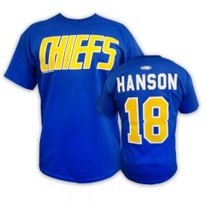 Slap Shot movie Hanson brothers t-shirt Charlestown Chiefs