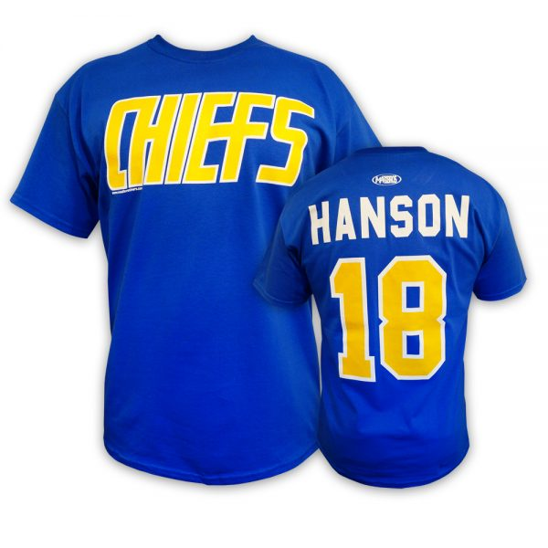 Slap Shot movie Hanson brothers t-shirt Charlestown Chiefs