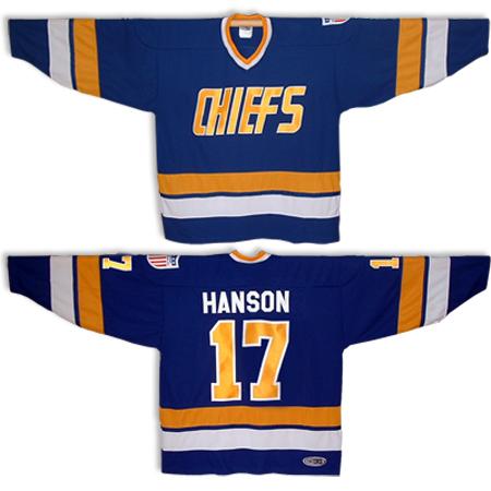 JS217_STEVE_HANSON_BROTHERS_CHARLESTOWN_CHIEFS_HOCKEY_JERSEY_BLUE_SLAPSHOT_MOVIE