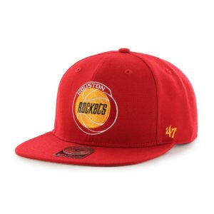 Houston Rockets NBA cap. Snapback closure. One size. NBA Licensed caps by '47 Brand.
