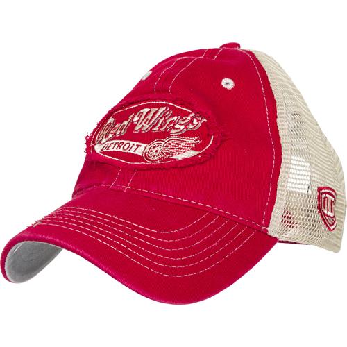 Detroit Red Wings NHL trucker cap