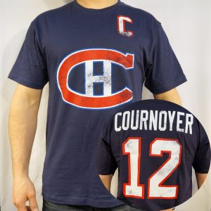COURNOYER-T-SHIRT-NHL-MONTREAL-CANADIENS