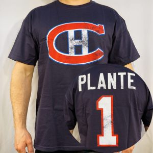 Montreal Canadiens #1 PLANTE T-shirt