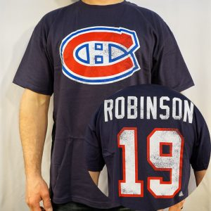 NHL-T-SHIRT-MONTREAL-CANADIENS-LARRY-ROBINSON