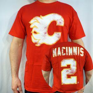 Flames #2 MACINNIS T-shirt