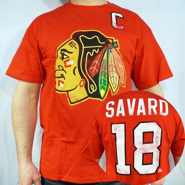 Blackhawks #18 SAVARD T-shirt