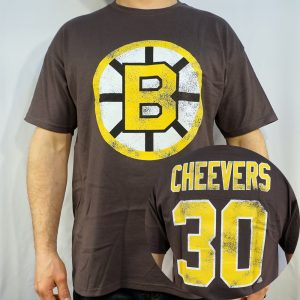 Bruins #30 CHEEVERS T-shirt