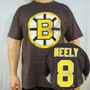 Boston Bruins #8 NEELY NHL T-shirt