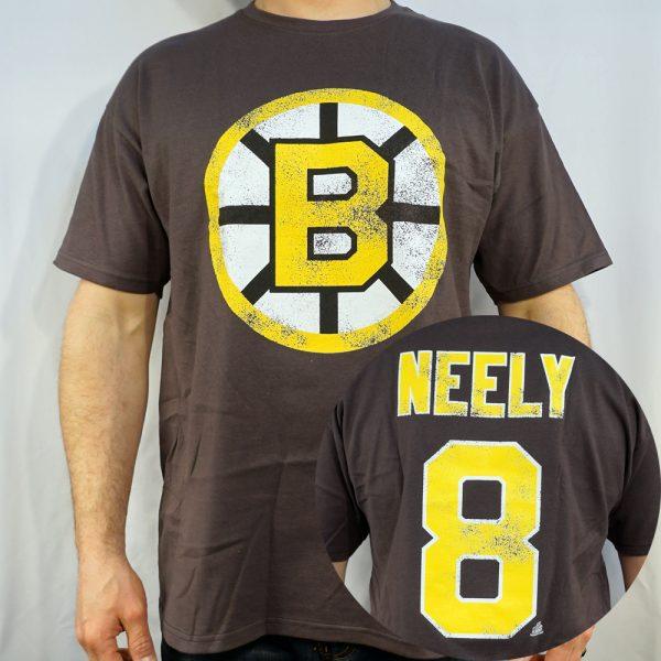 Boston Bruins #8 NEELY NHL T-shirt