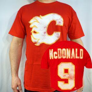 Flames #9 MCDONALD T-shirt