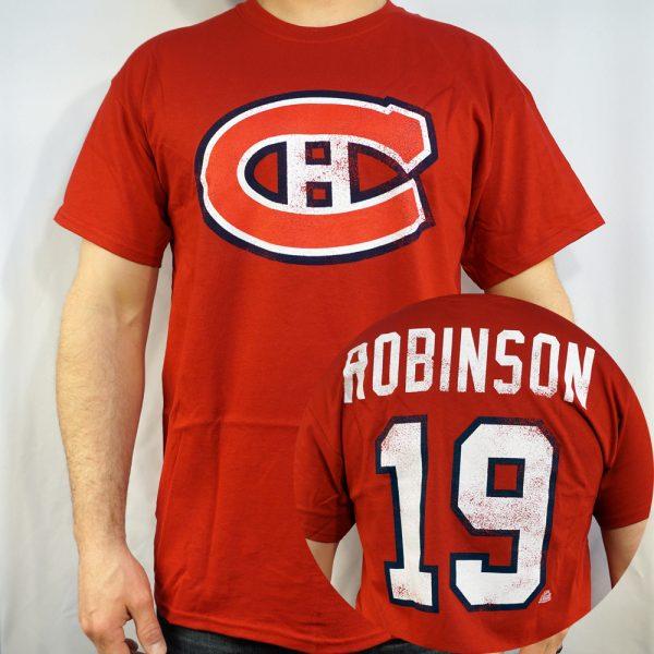 Canadiens #19 ROBINSON T-shirt