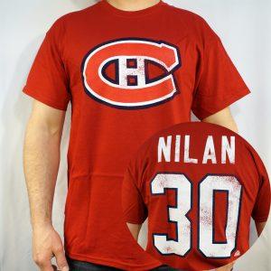 Canadiens #30 NILAN T-shirt