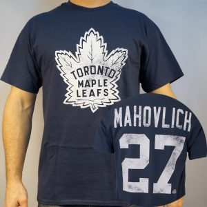 Maple Leafs #27 MAHOVLICH T-shirt