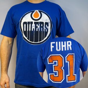 Edmonton Oilers #31 FUHR NHL T-shirt