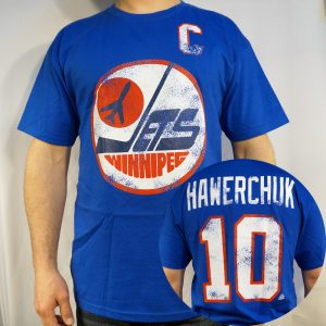 Jets #10 HAWERCHUK T-shirt