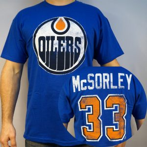 Oilers #33 McSORLEY NHL T-shirt