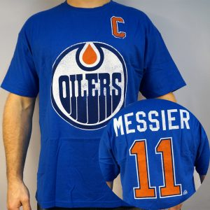 Oilers #11 MESSIER NHL T-shirt