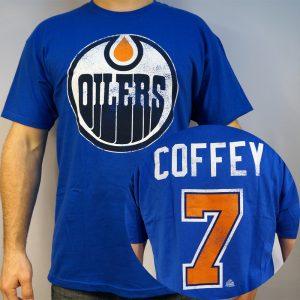 Oilers #7 COFFEY T-shirt