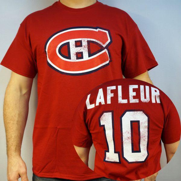 Canadiens #10 LAFLEUR NHL T-shirt