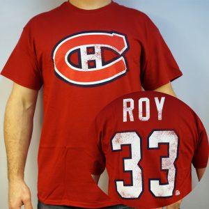 Canadiens #33 ROY NHL T-shirt