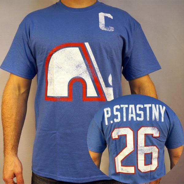 Nordiques #26 STASTNY NHL T-shirt