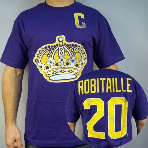 Kings #20 ROBITAILLE NHL T-shirt