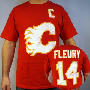 Flames-Fleury-NHL-T-shirt