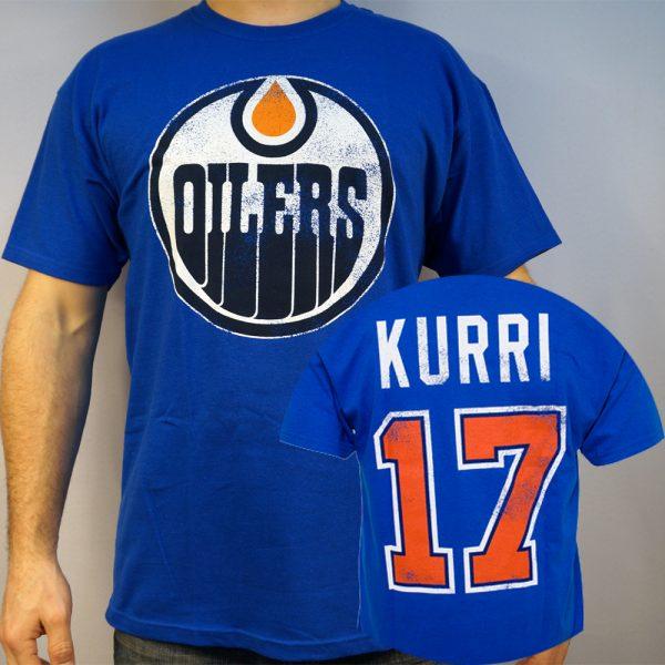Oilers #17 KURRI T-shirt