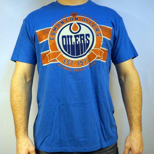Edmonton Oilers NHL Soft T-shirt