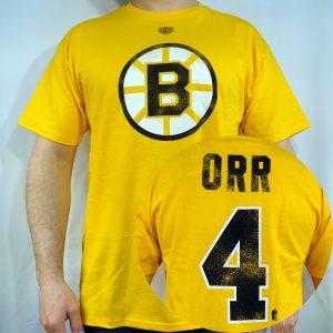 Bruins #4 ORR T-shirt
