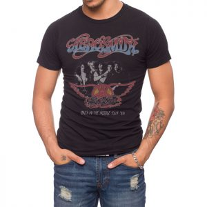 Aerosmith Back in the Saddle '84 Tour T-shirt