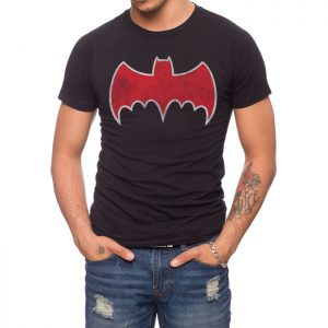 Batman 1966 Batmobile logo T-shirt