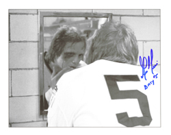 Billy charlestown chiefs slapshot movie signed picture