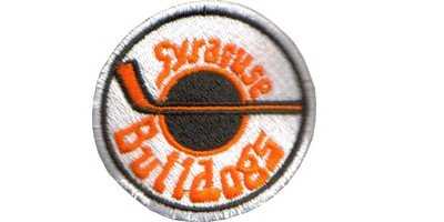 Syracuse BULLDOGS Embroided Patch slapshot movie