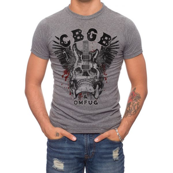 cbgb rock t-shirt