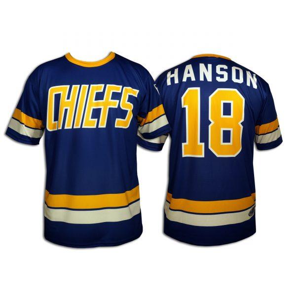 SlapShot-CHIEFS-Away-Dek-Jersey-18-HANSON
