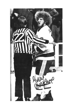 Goldie Goldthorpe signed picture