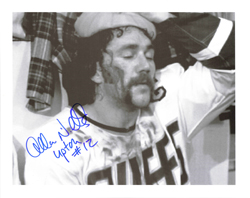 JohnnyUpton charlestown chiefs slapshot movie signed picture