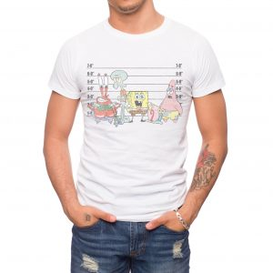 Spongebob Lineup T-shirt