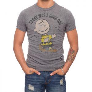 Peanuts Charlie Brown Good Day T-shirt