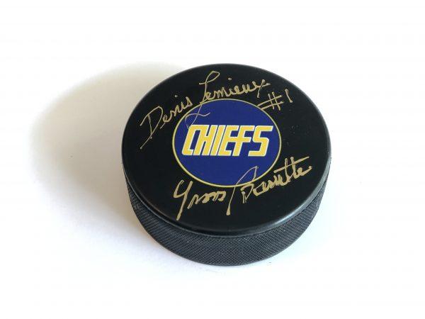 signed-hockey-puck-lemieux-slapshot-chiefs