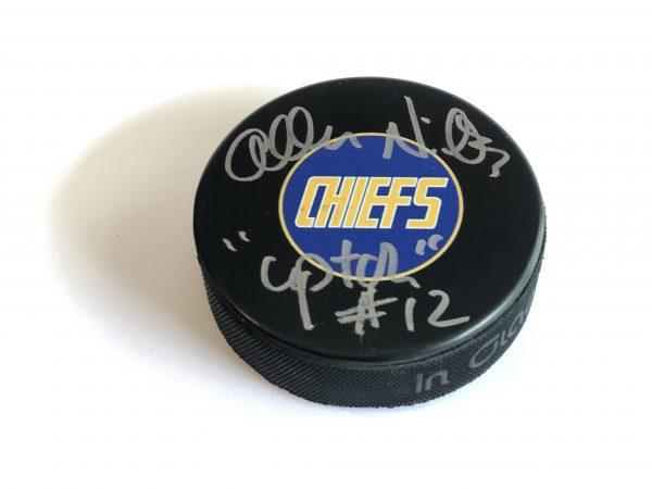 signed-hockey-puck-upton-slapshot-chiefs