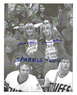 Sparkle Twins snapshot movie signed picture