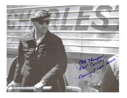 Walt chiefs slapshot movie signed picture