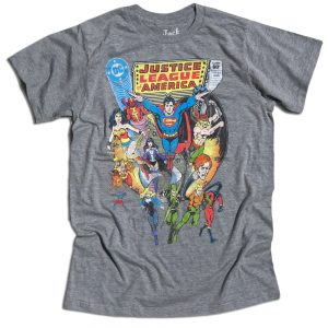 Justice League America Comic Cover T-shirt