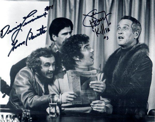 SlapShot movie signed picture