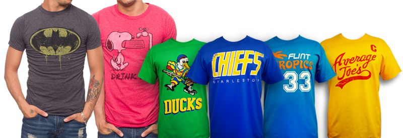 T-shirts sports movie nostalgia apparel