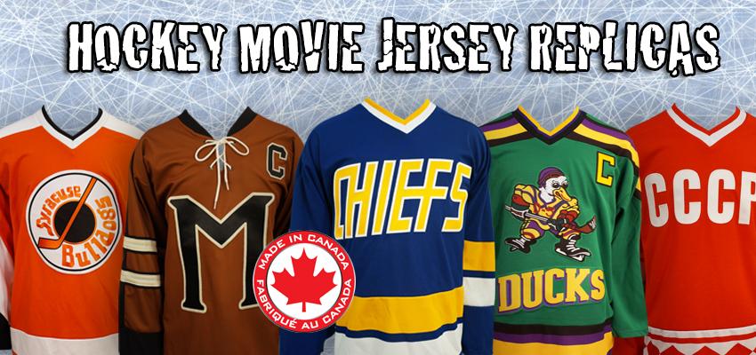 Hockey Movies Hockey Jerseys replica