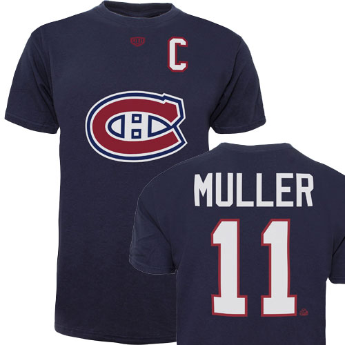 NHL 11 MULLER MONTREAL CANADIENS T-SHIRT