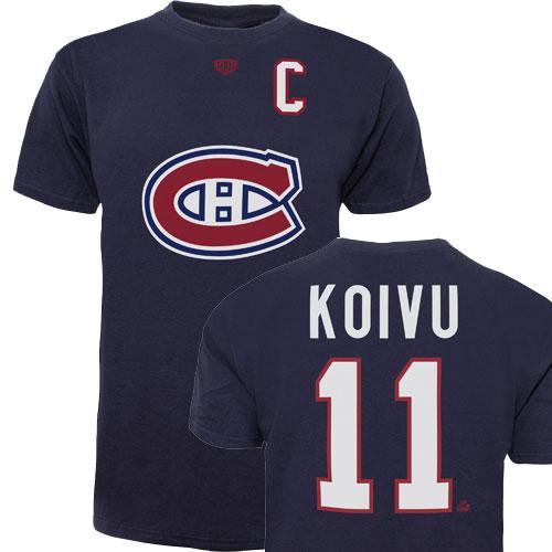 NHL 11 KOIVU MONTREAL CANADIENS T-SHIRT